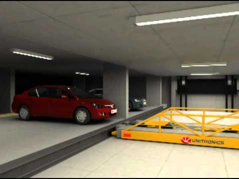 City of West Hollywood Automated Parking Garage Demo