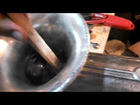 Homemade meat grinder torque test