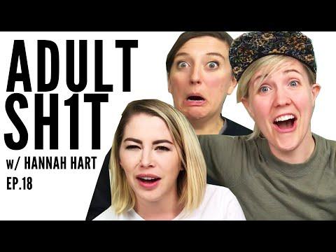 HANNAH HART TALKS MENTAL HEALTH // ADULT SH1T // Ep.18