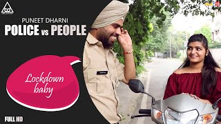 Police Vs People : Janta Curfew Comedy Video 2020 | Try Not To Laugh | Puneet Dharni |