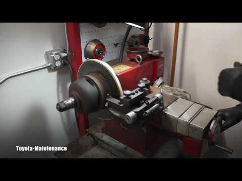How to resurface brake rotors Part1
