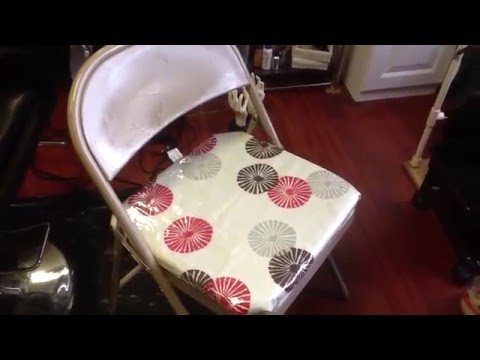 Diy (Folding Chairs Covers )