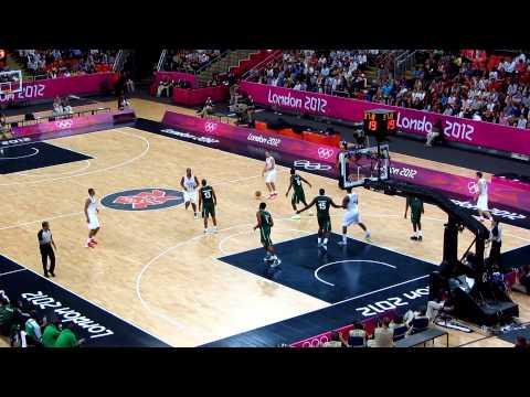 Nigeria vs France Mens Olympic Basketball London 2012