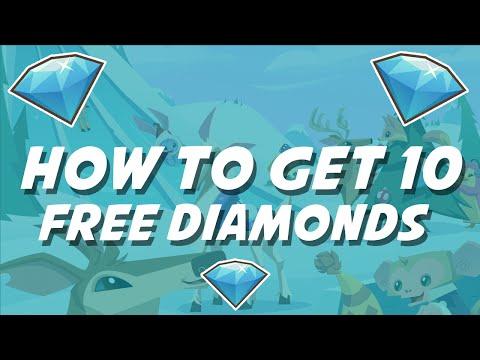 Animal Jam - How to get 10 diamonds for free!