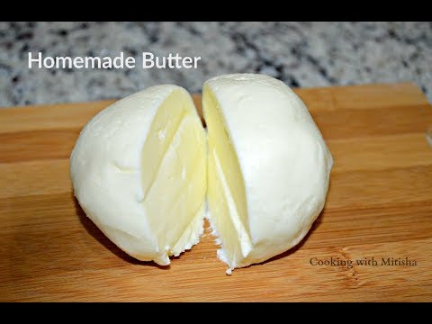 How to Make Homemade Butter | Desi Makhan Recipe | Homemade Butter Recipe