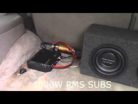 Power Acoustik BAMF2000 1D 2000W Class D Mono Amplifier Review