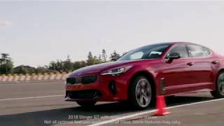 2018 Kia Stinger GT | Take a Test Drive Around the Track w/ Matt Powers