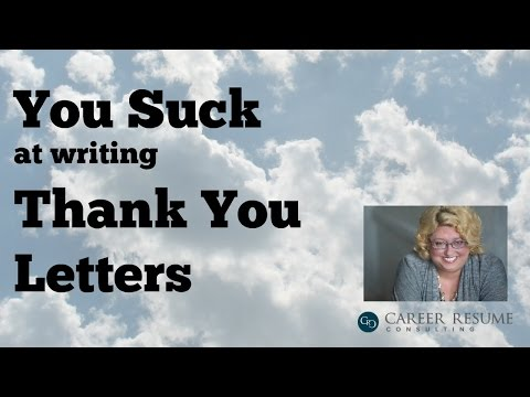 Interview Tips: Advice for Thank You Letters After Interview