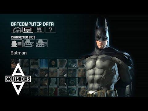 Batman: Arkham City - Character BIOS & Interviews