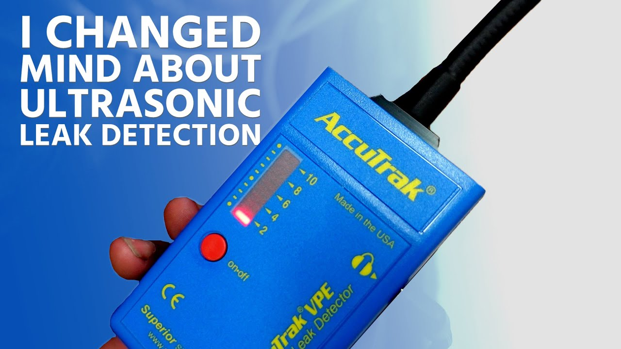 I Changed Mind About UltraSonic Leak Detection