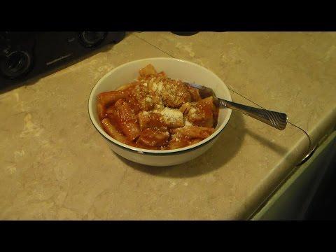 Pressure cooker Italian sausage rigatoni