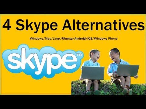 4 Skype Alternatives For PC Windows/Mac/Linux/Ubuntu/Android/iOS/Windows Phone