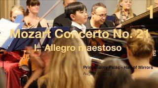 Mozart Concerto No. 21, I.  Allegro maestoso - Evan Lê (8 years 2 months)