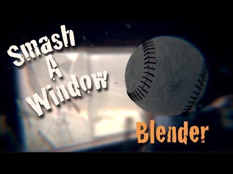 Break a Window in Blender - 3D VFX Tutorial
