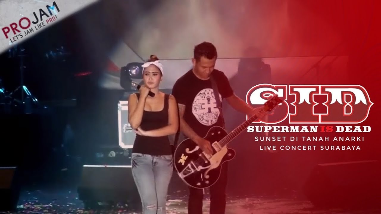 Download SUPERMAN IS DEAD - SUNSET DI TANAH ANARKI LIVE SURABAYA 2016 MP3 Gratis