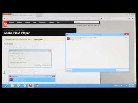Installing Flash Player on Windows 8