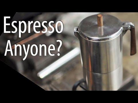Making An Espresso ... Pot!