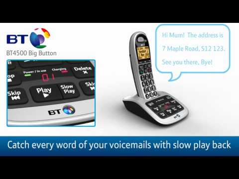 BT 4500 Cordless Phone Review - Big Button and Nuisance Call Blocker