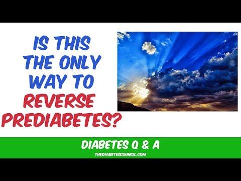 Can You Reverse Prediabetes?