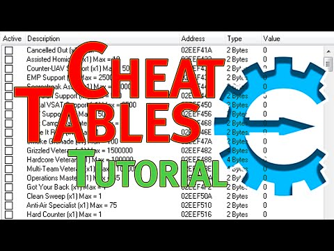 How to use Cheat Tables (.CT Files) to Cheat in PC Games [Cheat Engine Tutorial]