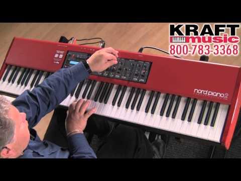 Kraft Music - Nord Piano 2 HA88 FULL Demo with Chris Martirano HIGH QUALITY!!!