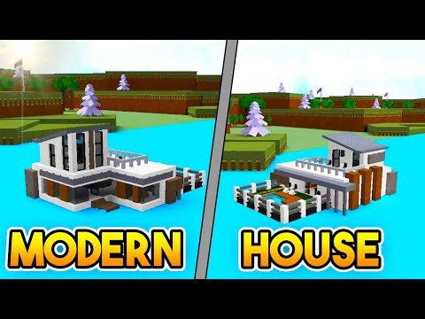 MODERN HOUSE BOAT!   Build A Boat For Treasure ROBLOX