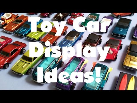 Toy Car Display Ideas - Video No.124 - June 6th, 2016