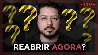 Live 01/06 - Reabrir Agora??? #FiqueEmCasa