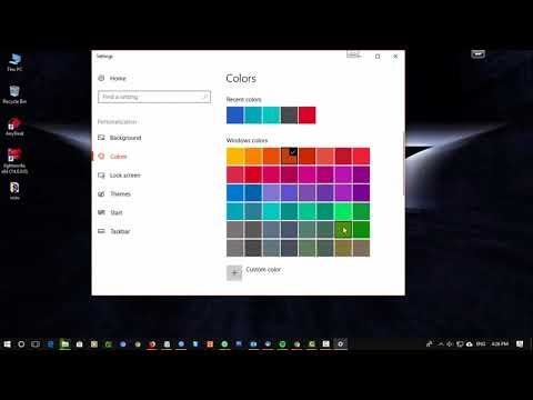 HOW TO CHANGE LOCK SCREEN, SCREEN SAVER, THAME, AND WALLPAPER IN WINDOWS 10