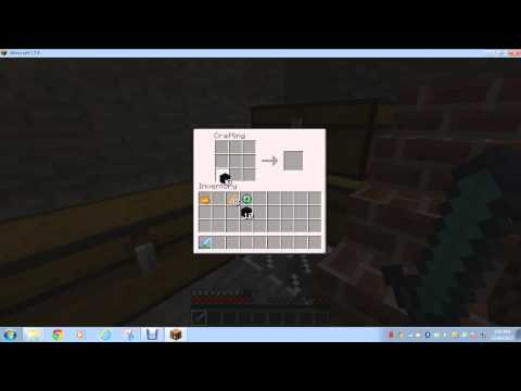 HOW TO MAKE A ENDER CHEST IN MINECRAFT 1.7.4!!!!!