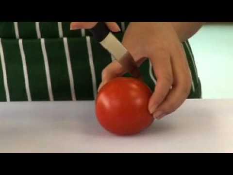 Using knife (bridge hold)