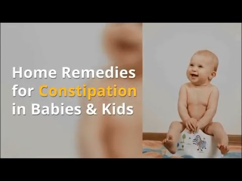 30 Indian Home Remedies for Constipation in Babies, Toddlers and Kids