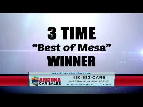 Arizona Car Sales is an award winning auto dealer in Mesa, Arizona!