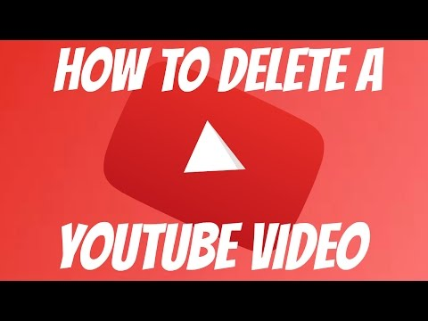 How To Delete A Youtube Video   HD