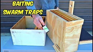 How to Bait a Swarm Trap to Catch Free Bees