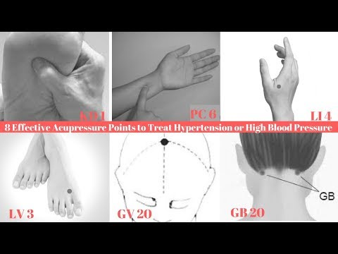 8 Effective Acupressure Points to Treat Hypertension or High Blood Pressure