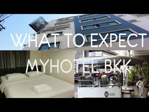 $25 BUDGET HOTEL in BANGKOK with FREE BREAKFAST FOR 2!  | MyHotel Pratunam Bangkok Room Tour