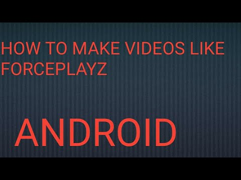 how to make stickman animation videos on android  by GAMER TM