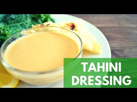 Tahini Dressing Vegan - How To Make Tahini Dressing