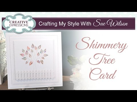 How to Make a Garden Scene Card   Crafting My Style with Sue Wilson