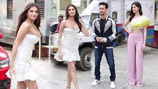 Download Tara Sutaria H0T ENTRY In Front Of Tiger Shroff & Ananya Pandey @SOTY 2 Trailer Launch Video