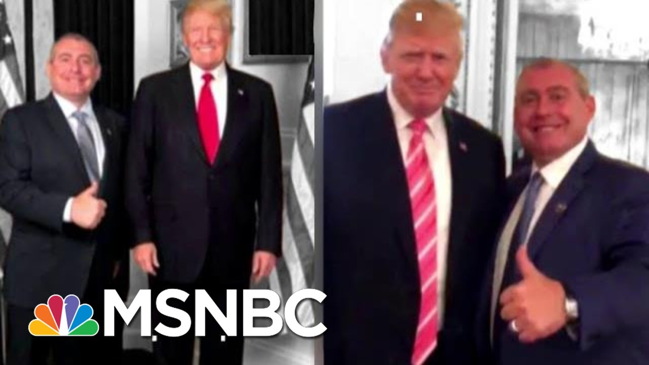 Trump Now Says He Doesn't Know Lev Parnas. He's Pulled This Trick Before. | The 11th Hour | MSNBC