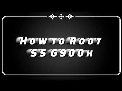 How to Root Samsung Galaxy S5 G900H in One minute 2016