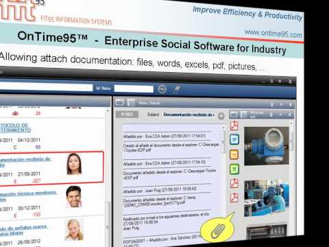 OnTime95 - The Social Software to improve Efficiency and Productivity