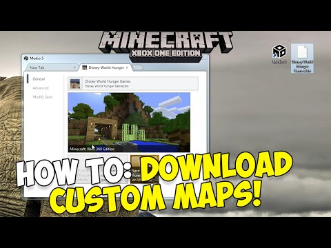 How to Download Custom Maps on Minecraft Xbox 360 & Xbox One! | [Updated 2016]