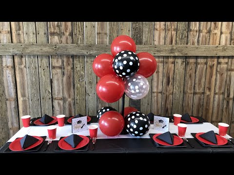 DIY Dollar Tree Party Ideas + Balloon Centerpiece Tutorial