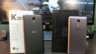 LG K20 Plus VS Blu Life One X2 mini   (Battle of the Budget Phones)