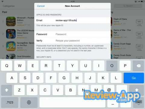 How to create free USA iTunes account  | Review App