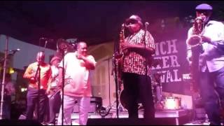 The Dirty Dozen Brass Band Do It Fluid At French Quarter Fest 2013