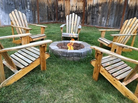 DIY Easy Backyard Fire Pit Ring Build
